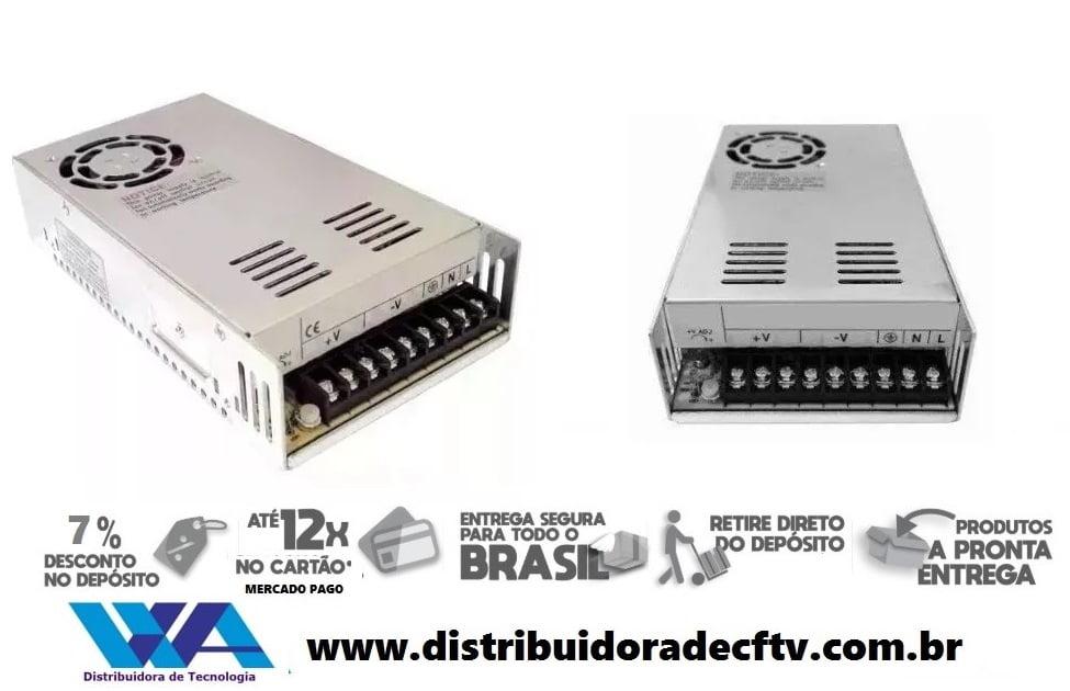 Fonte Chaveada 24v 20 Amperes Bivolt 500w 110/220v - Alta Qualidade