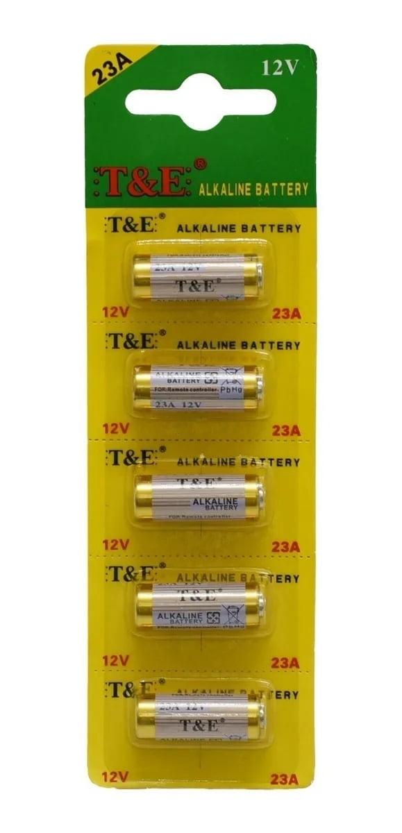 Bateria 12v 23a Cartela C 5 Pilhas P Controle Portão Alarme