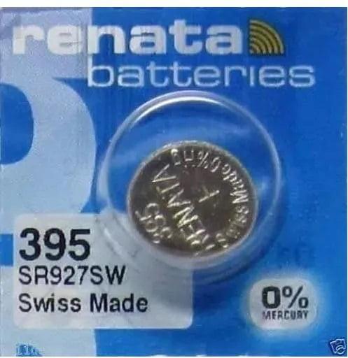 Bateria 395 De Óxido Prata Sr927sw Renata
