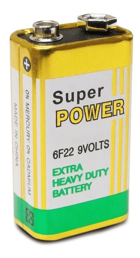 Bateria 9v Peak Power
