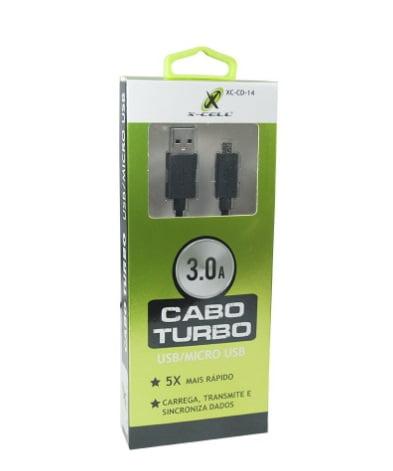 CABO V8 XCELL TURBO 3.0 USB/MICRO USB XC-CD-14