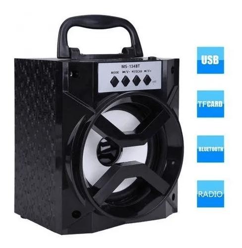 CAIXA DE SOM GRASEP 10W D-BH1019 BLUETOOTH/USB/FM