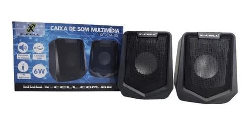CAIXA DE SOM X-CELL XC-CM-05 6W USB