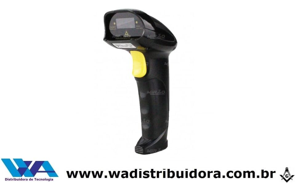 Leitor de Código de Barras Wireless 2.4ghz Sem Fio - LCB-S600