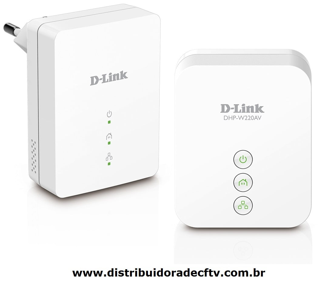 Repedidor De Sinal D-link Powerline Dhp-w221av N150