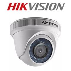 Câmera de segurança infra vermelho dome Hikvision DS-2CE56C0T-IRP Lente 2.8mm 2 em 1 TVi/CVBS