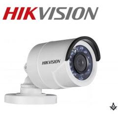 Câmera de segurança infra vermelho bullet Hikvision DS-2CE16D0T-IRP 2 Megapixel high 20m IR distancia lente 2.8MM