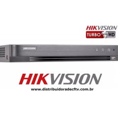 Gravador digital Dvr Stand hikvision DS-7216HQHI-K1- P  16 Canais Digital Turbo 5 em 1 h.265