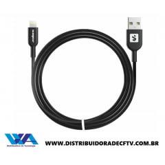 Cabo de Carregamento USB / Lightning 2 metro SS-B1I6 - 2M