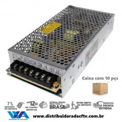 Fonte de Alimentação Chaveada 12 volts 15 Amperes Cftv - Fita Led - Som Automotivo