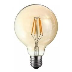 Lâmpadas Led Filamento 4w G95 Vintage Retrô Bivolt