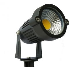 Refletor e Luminaria Espeto de Jardim LED 3W Verde