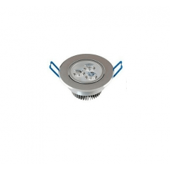 Lâmpada Direcionável Spot Super Led THS cob 7w Embutir Redondo