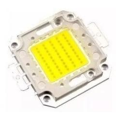 Chip Led branco GY-50W-100% Reposição De Refletor