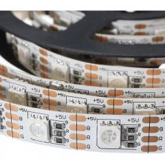 Fita Led 5m Rgbww 5050 12 volts Prova D'agua + Controle