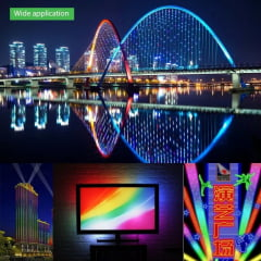 Fita LED WS2812B WS2812 Endereçável 5 metros 300 LEDs 5 Volts IP67