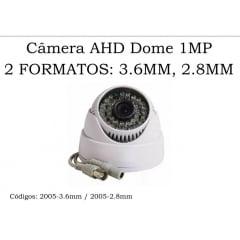 Câmera Segurança Vigilância Dome Com Infra 2010 Ahd 1.3mp 2.8mm 35 metros