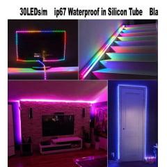 Fita Led Endereçável Digital Ws2811 12v 5 Metros 300 Led sem silicone 5 metro