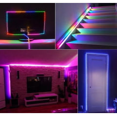 Mangueira rgb hc 12 volts - 5 metro neon