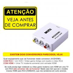 MINI CONVERSOR RCA PARA HDMI
