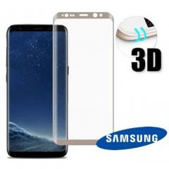 Película de Vidro 3D para Samsung A8 Plus - Cor Preta