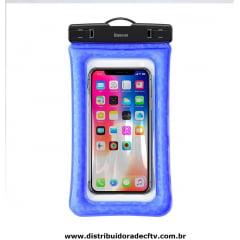 Capa para celular A Prova D'Agua Baseus Air Cushion
