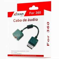 CABO ADAPTADOR DE A¿UDIO ÓTICO DIGITAL OU RCA - XBOX 360 - XD537