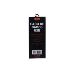 Cabo Basike 2.4A USB V8 / iP / T-C 1200mm BA CBO-9948