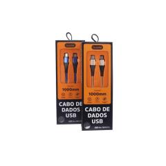 Cabo Basike 2.4A USB V8 / Type C 1 Metrô BA CBO-9990