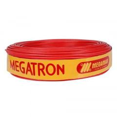 Cabo de força Flexível 750v 6,0 Mm Vermelho 100 M megatron