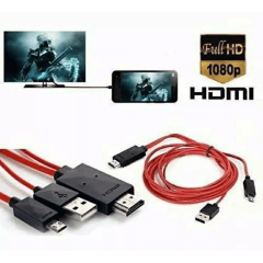 Cabo Mhl Hdmi Para Smartphone/mobile Phone For Hdtv