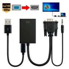 Conversor de VGA para HDMI Transmissor - EXBOM - CC-VHA30