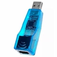 Adaptador USB 2.0 Lan Placa Rede Externa RJ45 - XT-2072