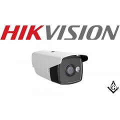 Câmera Bullet Hikvision DS-2CE16D0T-WL3 Full HD, 1080P, Iluminação por Luz Branca 30Mts, 0,01 Lux/F 1.2, 12V, 2 Megapixel