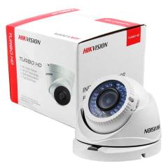 Camera Hikvision Ds-2ce56c0t-irmf de segurança dome infra de 20mts hd 720P lente 3.6mm 4 em 1 tvi/ahd/cvi/cvbs