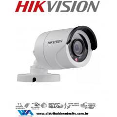 Câmera Hikvision Ds-2ce16c0t-irp de segurança infra vermelho bullet  2 megapixel - Lente 2,8mm - 2 em 1 TVI/CVBS