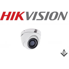 Câmera Dome Full HD Hikvision DS-2CE56D8T-ITM 1080p 20 Metros IP66