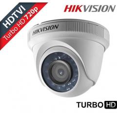 Câmera Dome Hikvision DS-2CE56C0T-IR 1 megapixel 720p resolution 40 m IR distance