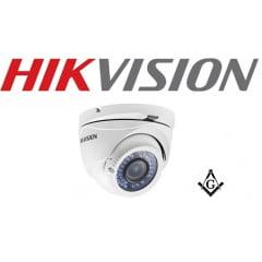 Câmera Hikvision 2CE56D1T-VFIR3 Dome Turbo HD 1080p 40m 2.8-12mm