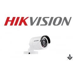 Câmera de segurança infra vermelho Hikvision 2MP DS-2CE16D0T-IRF lente 2.8mm