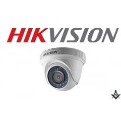 Câmera de segurança infra vermelho dome Hikvision DS-2CE56D0T-IRM 1080P 20 Metros lente 2.8mm