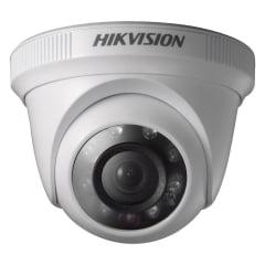 Câmera Hikvision DS-2CE56C0T-IRP de segurança infra vermelho dome 1megapixel lente 2.8mm 2 em 1 TVi/CVBS