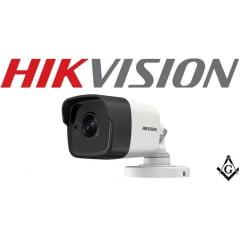 Câmera Hikvision bullet DS-2CE16H0T-ITF 5 MP, OSD menu, 2D DNR, DWDR, lente 2,8mm