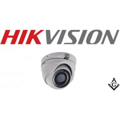 Camera Hikvision DS-2CE56H1T-ITM Dome 5 Megapixel varifocal 2.8-12mm fixed lens 20m IR distance OSD menu IP67 weatherproof
