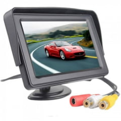 Monitor Automotivo Stand And Security TFT Tela LCD 4.3