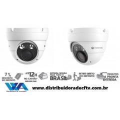 Câmera de segurança infra vermelho motorola IP de 5MP Dome Plástico Motorola MTIDM045701