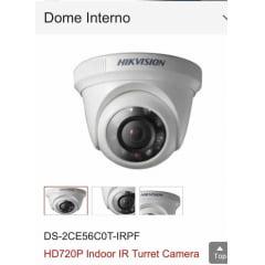 Câmera dome Hikvision Ds-2ce56c0t-irpf