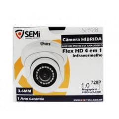 CÂMERA HIBRIDA FLEX HD 4 EM 1 MP SEMI SC9128