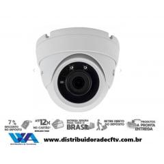 Câmera Ip de segurança e cftv dome metal Motorola 2MP MTIDM022601