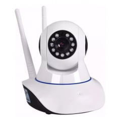 Câmera Ip Robô 2 Antenas App Yoosee/yyp2p Visão Noturna
